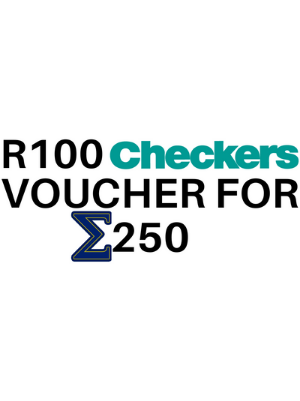 R100 Checkers voucher for Σ250