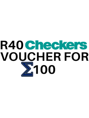 R40 Checkers Voucher for Σ100